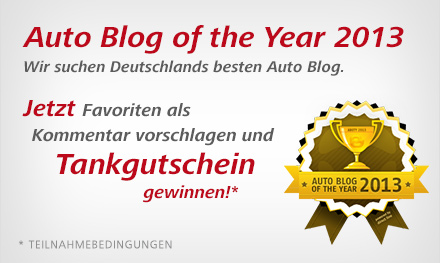 Auto Blog of the Year 2013